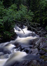 Flowing Water Of Mountain Stream Royalty Free Stock Images - 14548049
