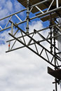 Scaffolding And Clouds Stock Photography - 14566832