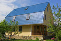Russian Typical Village House Stock Photo - 14570070