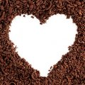 Chocolate Heart Stock Images - 14572554
