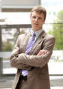 Young Smiling Business Man Royalty Free Stock Photos - 14573668