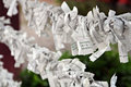 Paper Prayers Stock Photography - 1468972