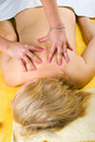 Top View Of Senior Woman At Massage Royalty Free Stock Images - 14619969