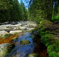 Mountain River With Big Stones Stock Photography - 14625272