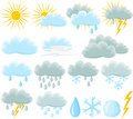 Weather Icon Set Stock Images - 14627354
