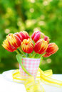 Bunch Of Tulips In The Vase Stock Images - 14648344
