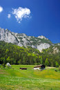 Village In The Germany Alps Royalty Free Stock Photo - 14653015