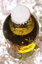 Iced Cold Beer Bottle Stock Photography - 14681092