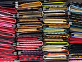 Ladies Purse Stack Stock Photography - 14696742