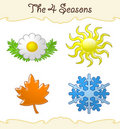 The 4 Seasons Royalty Free Stock Image - 14707356
