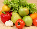Fruit And Vegetables Royalty Free Stock Photo - 14707545