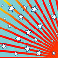 Stripes And Stars Background Royalty Free Stock Photos - 14718858
