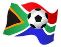 South Africa Flag Royalty Free Stock Photography - 14720227