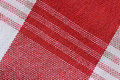 Close-Up Of Gingham Fabric Stock Image - 14748811