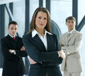 Portrait Of A Business Team In An Office Stock Photo - 14761530