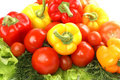A Composition Of Fresh And Tasty Vegetables Royalty Free Stock Photography - 14761557