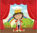 A Boy With A Crown Royalty Free Stock Photos - 14765188