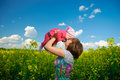 Spring Field Joy Royalty Free Stock Images - 14779689