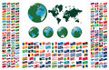 All Flags Of The World Royalty Free Stock Photos - 14780888