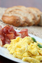 Scrambled Eggs And Bacon Royalty Free Stock Images - 14781739