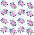 Rose Pattern Seamless Royalty Free Stock Images - 14783709