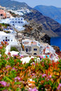 Landscape View In Santorini Royalty Free Stock Image - 14792766