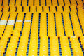 Yellow Football Seats Stock Images - 14793844