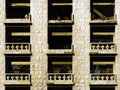 Destroyed Balconies Royalty Free Stock Photography - 1486877