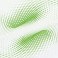 Wave Green Dots Stock Photography - 14804652