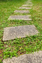 Garden Stone Path Royalty Free Stock Images - 14812049