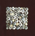 White Buttons Royalty Free Stock Images - 14818129
