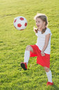 Little Soccer Player Stock Photography - 14831142
