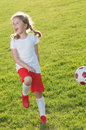 Little Soccer Player Stock Photos - 14831153