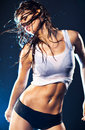 Young Sexy Dancing Woman Royalty Free Stock Image - 14833506
