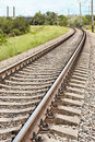 Railway Track Royalty Free Stock Image - 14847566