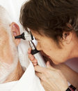 Nurse Or Doctor Using Otoscope Stock Images - 14858634