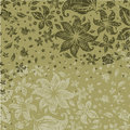 Grunge Floral Pattern With Flowers Stock Photo - 14867010