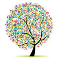 Art Tree Beautiful For Your Design Stock Photo - 14868750