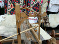 Romanian Carpet Loom Royalty Free Stock Images - 14869139