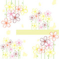 Abstract  Floral Background Royalty Free Stock Photography - 14877517