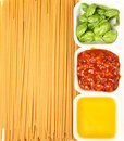 Italian Cuisine Ingredients Stock Photo - 14877890