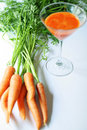 Fresh Squeezed Carrot Juice Stock Image - 14882091