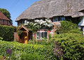 Thatched Village Cottage Stock Images - 14885904