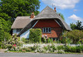 Thatched Village Cottage Royalty Free Stock Image - 14885956