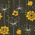 Retro Floral Seamless Background Royalty Free Stock Photography - 14898557
