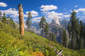 Yosemite Half Dome View Royalty Free Stock Image - 1491756