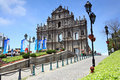 St Paul S Cathedral.Macao Stock Images - 14901494