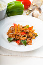 Chinese Beef And Vegetables Stock Photos - 14909343