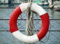 Life Ring And Rope Royalty Free Stock Photography - 14915297