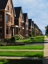 A Row Of Street Houses Stock Photography - 14927802